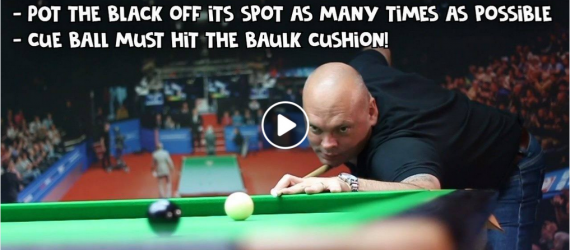 Back to Black Challange Stuart Bingham